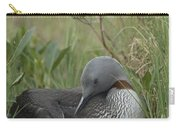 Red-throated Loon With Chick On Nest Carry-all Pouch