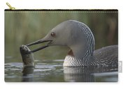 Red-throated Loon With Fish Alaska Carry-all Pouch
