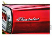 Red Thunderbird Carry-all Pouch
