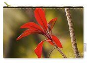 Red Ti Leaves Carry-all Pouch
