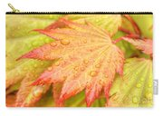 Red Tip Leaf Carry-all Pouch