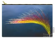 Red Tipped Grass Carry-all Pouch by Robert Bales