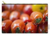 Red Tomatoes At The Market Carry-all Pouch by Heather Applegate