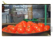 Red Tomatoes Carry-all Pouch