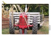 Red Tractor Ready To Roll Carry-all Pouch