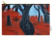 Red Trees Carry-all Pouch