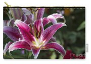 Red Tropical Flowers Carry-all Pouch