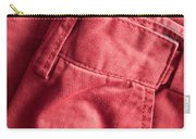 Red Trousers Carry-all Pouch
