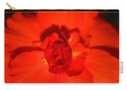 Red Tuberous Begonia Carry-all Pouch