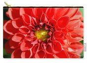 Red Tubular Flower Carry-all Pouch