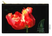 Red Tulip Blurred Carry-all Pouch