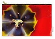 Red Tulip Macro Carry-all Pouch
