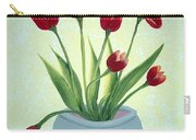 Red Tulips In A Pot Carry-all Pouch
