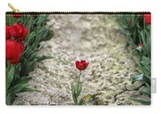 Red Tulips Carry-all Pouch by Jim Corwin