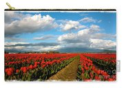 Red Tulips Of Skagit Valley Carry-all Pouch