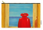Red Vase Carry-all Pouch