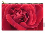 Red Velvety Rose Carry-all Pouch