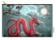 Red Water Dragon And Tree Carry-all Pouch