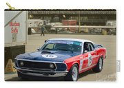 Red White And Blue Mustang Carry-all Pouch
