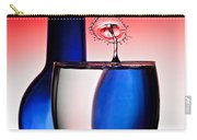 Red White And Blue Reflections And Refractions Carry-all Pouch by Susan Candelario