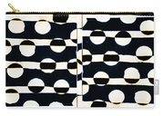 Red White Black Number 3 Carry-all Pouch