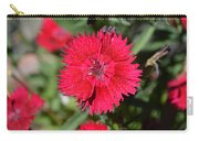 Red Winery Flower Carry-all Pouch