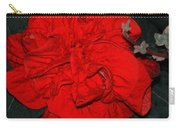 Red Winter Rose Carry-all Pouch