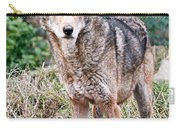 Red Wolf Alert Carry-all Pouch