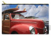 Red Woodie Carry-all Pouch