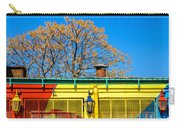 Red Yellow And Blue Building Carry-all Pouch