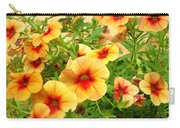 Red Yellow Morning Glories Carry-all Pouch