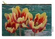 Red Yellow Tulips Carry-all Pouch