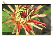 Red Zinnia- Early Bloom Carry-all Pouch