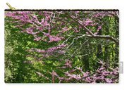 Redbud In The Woods Carry-all Pouch