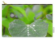 Redbud Water Droplets Carry-all Pouch