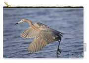 Reddish Egret Dance Fishing Carry-all Pouch