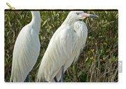 Reddish Egret Egretta Rufescens Pair Carry-all Pouch
