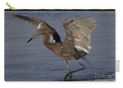 Reddish Egret Fishing Carry-all Pouch