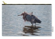 Reddish Egret Having A Bad Hair Day Carry-all Pouch