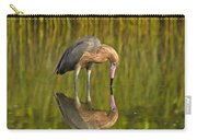 Reddish Egret Reflection Carry-all Pouch