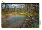 Redfish Lake Creek Carry-all Pouch by Robert Bales