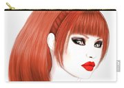 Redhead Cassia Carry-all Pouch by Renate Janssen