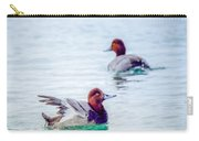 Redhead Ducks Carry-all Pouch
