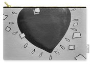 Redheart In Black And White2 Carry-all Pouch