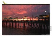 Redondo Beach Pier At Sunset Carry-all Pouch