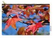 Reds Of Autumn Carry-all Pouch