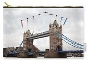 Reds Over Tower Bridge Carry-all Pouch