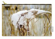 Reed With Snow Carry-all Pouch
