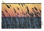 Reeds At Sunset Island Beach State Park Nj Carry-all Pouch