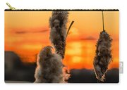 Reeds At Sunset Carry-all Pouch